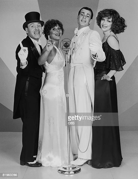 American vocal group The Manhattan Transfer July 1975 Left to right Tim Hauser Janis Siegel Alan Paul and Laurel Masse The group are soon to have...