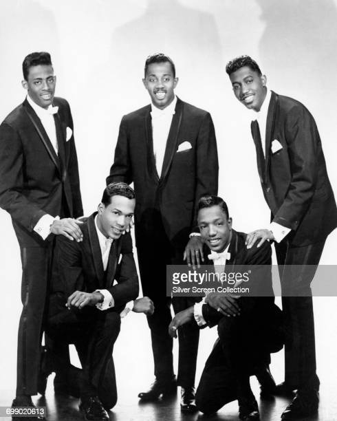 American vocal group The Temptations circa 1960