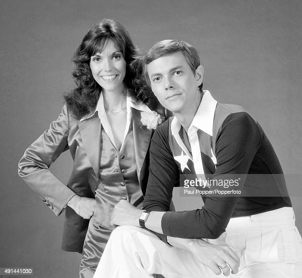 American vocalists siblings Karen and Richard Carpenter circa 1975 Photographed in California by Harry Langdon