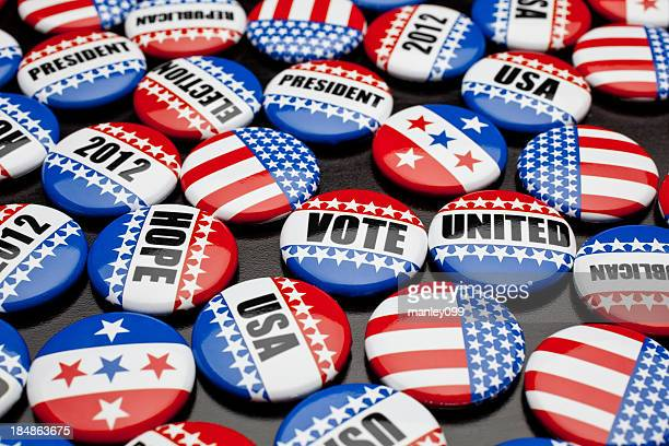 american voting pins for election