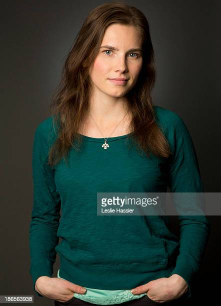 American woman who served prison time in Italy for murder, Amanda Knox, is photographed for Self Assignment on April 30, 2013 in New York City.