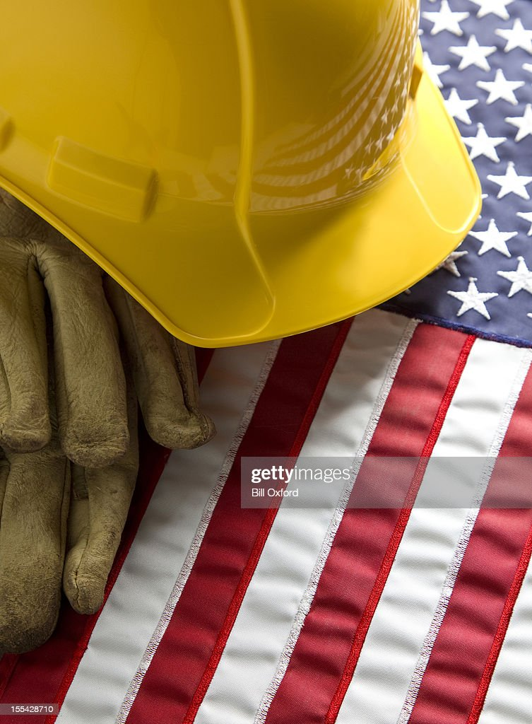American Workers : Stock Photo
