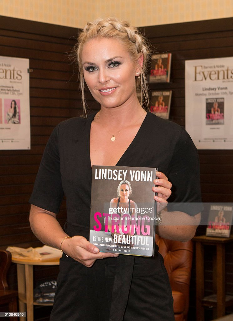 """Lindsey Vonn Book Signing For """"Strong Is The New Beautiful"""""""