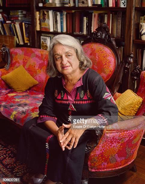 American writer activist and feminist Betty Friedan New York 1981