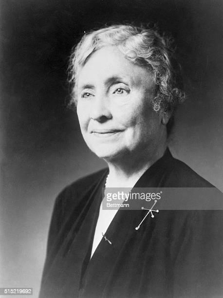 American writer and educator Helen Keller.