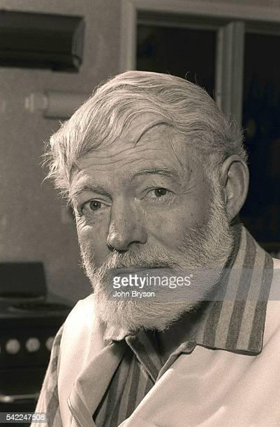 American writer and journalist Ernest Hemingway