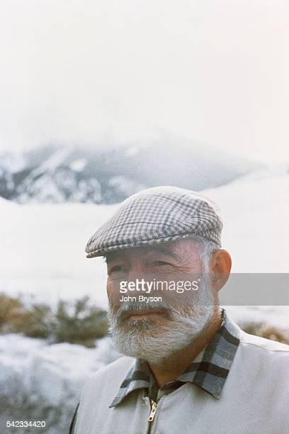 American writer and journalist Ernest Hemingway.