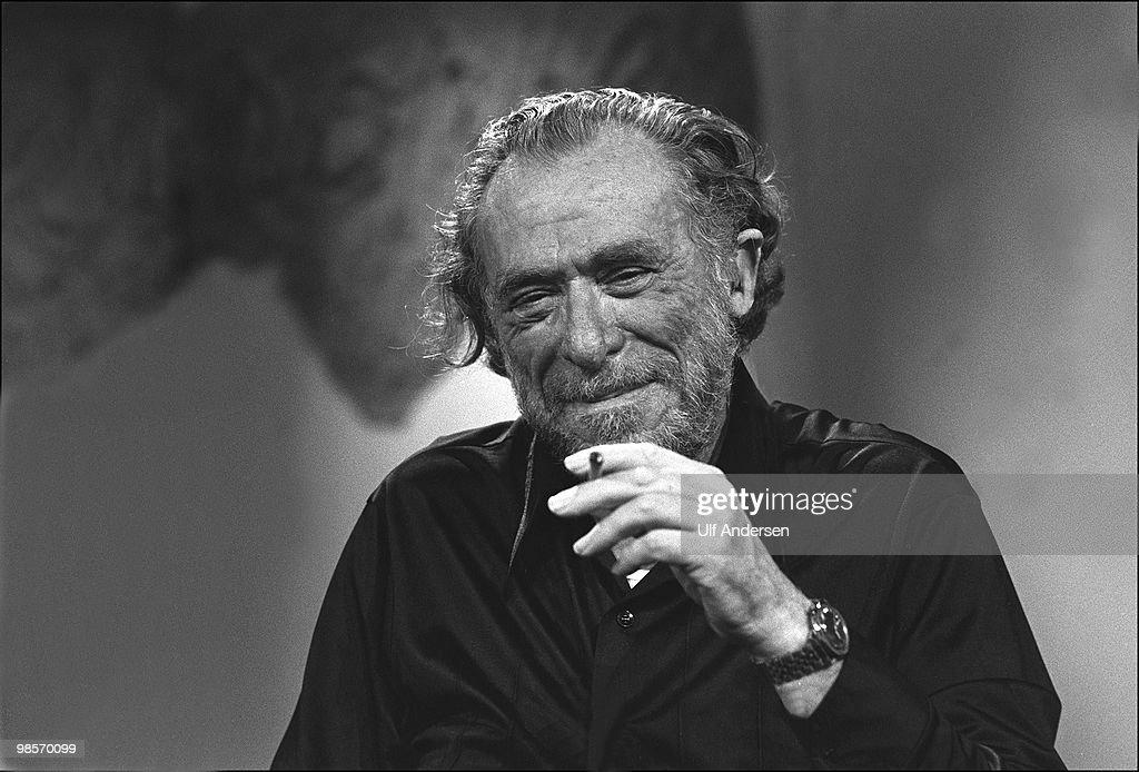 "Charles Bukowski on ""Apostrophes""  French Talk Show : Foto di attualità"
