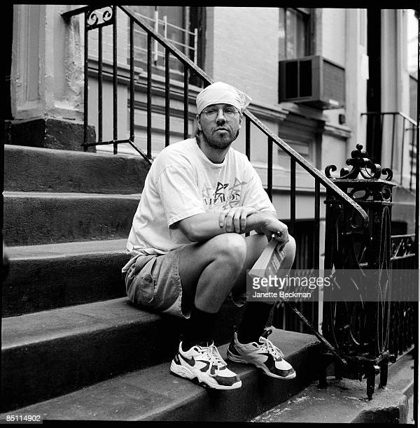 American writer David Foster Wallace East Village Manhattan New York City circa 2002