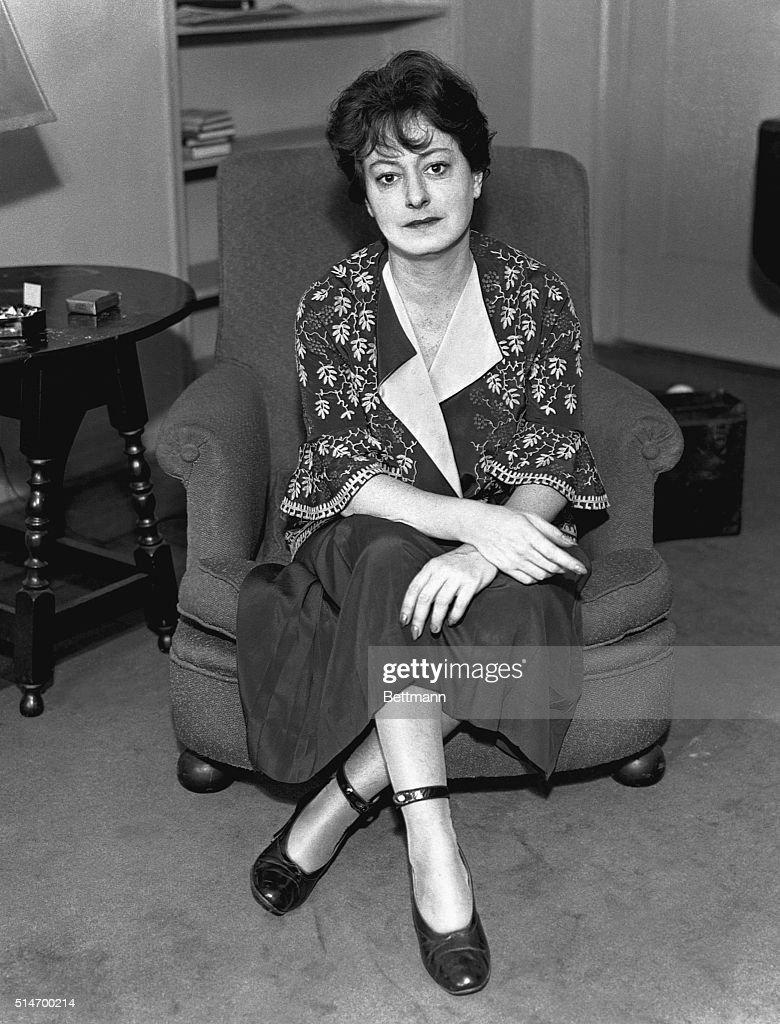Dorothy Parker, American Writer : News Photo