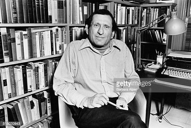 American writer editor and biographer Justin Kaplan Massachusetts USA December 1978