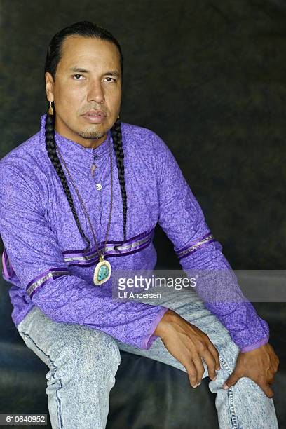 PARIS FRANCE SEPTEMBER 11 American writer Gyasi Ross poses during portrait session held on September 11 2016 in Paris France
