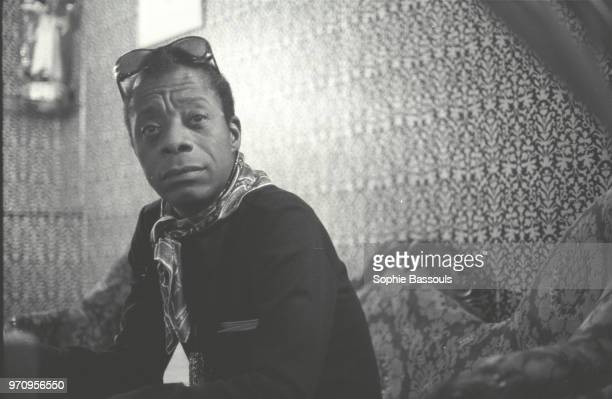 American Writer James Baldwin 27th April 1972
