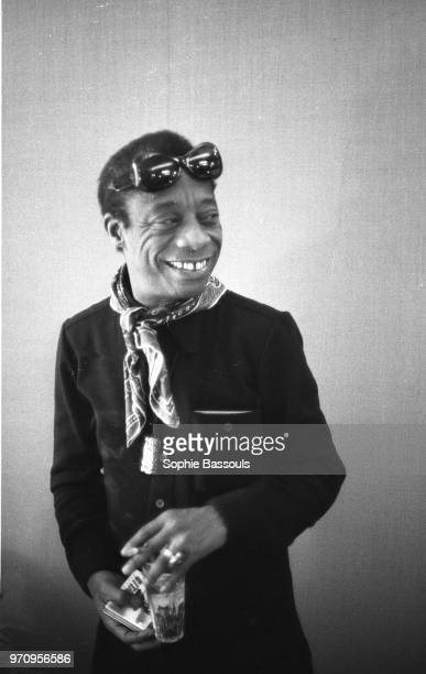 American Writer James Baldwin in Paris 27th April 1972
