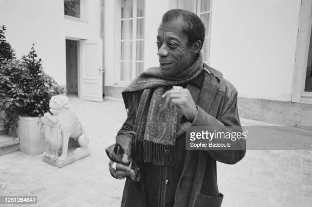 American Writer James Baldwin in Paris.