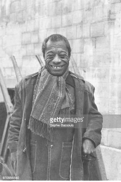 American Writer James Baldwin 1st April 1972