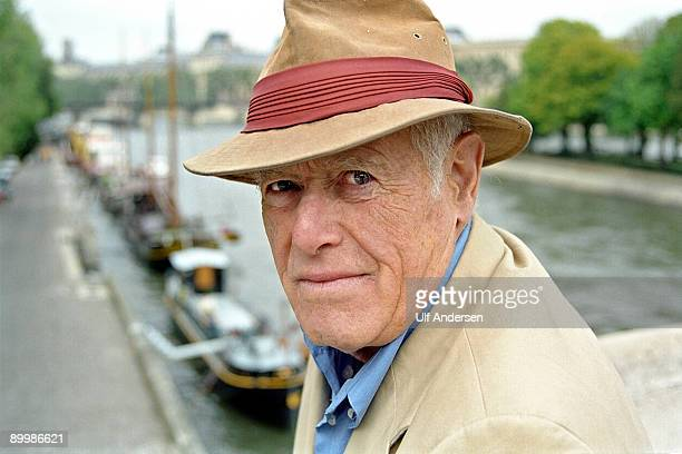 American writer James Salter poses for a portrait October 1 1999 in Paris France