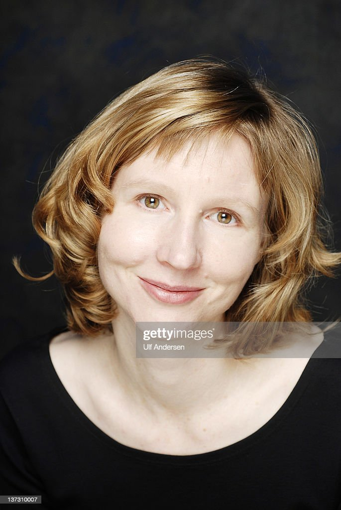 PARIS, FRANCE - JANUARY 18. American writer Janet Skeslien Charles poses during a portrait session held on January 18, 2012 in Paris, France.
