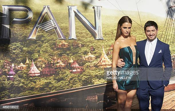 American writer Jason Fuchs poses for photographers as he arrives for the World Premiere of PAN in London's Leicester Square on September 20 2015 AFP...