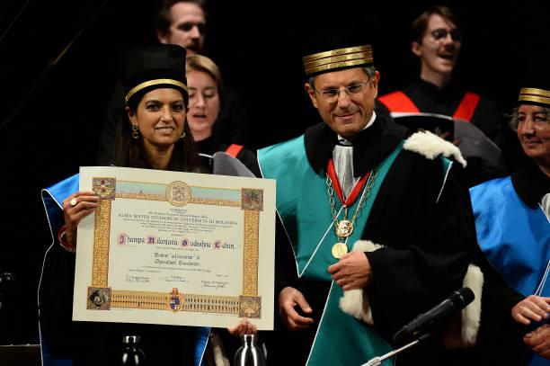 ITA: Jhumpa Lahiri Receives Honorary Degree By University Of Bologna
