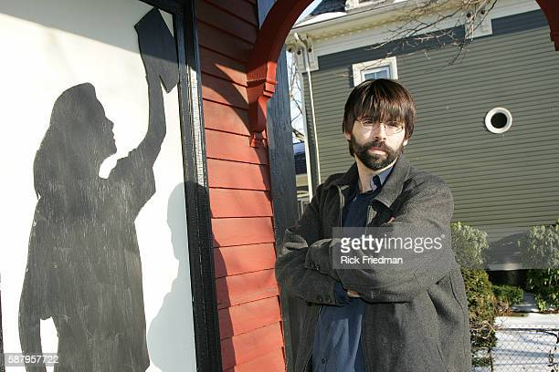 American writer Joe Hill is the second child of the authors Stephen and Tabitha King Joe Hill promotes his new book 'HeartShaped Box' at Kate's...
