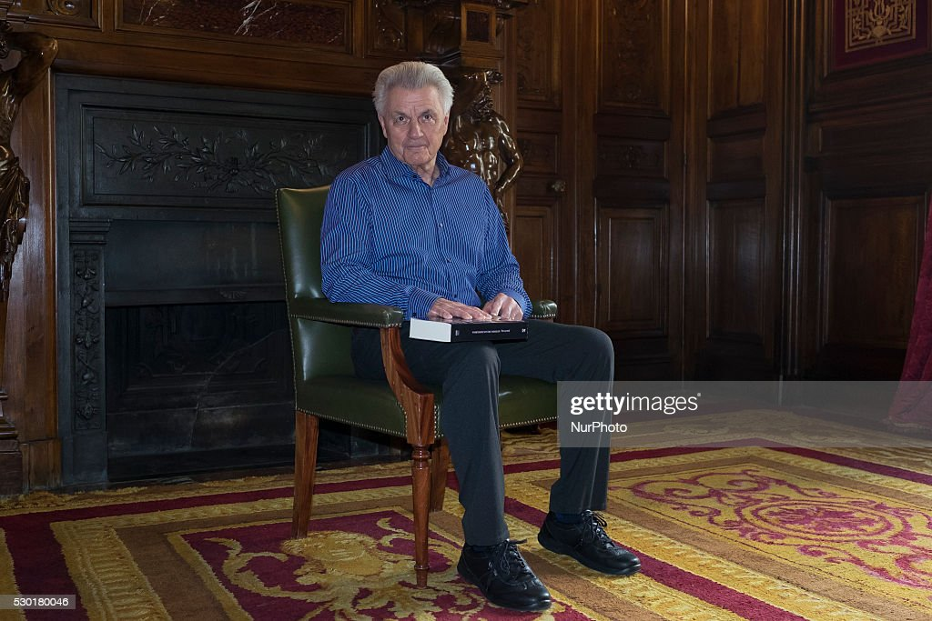John Irving in Madrid
