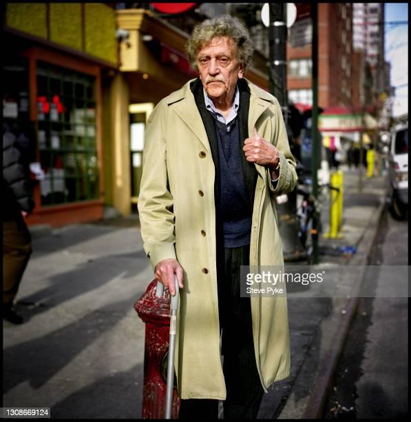 American writer Kurt Vonnegut Jr , New York, April 2005.