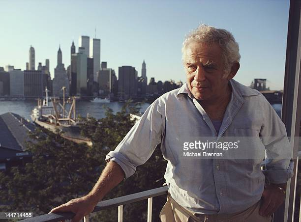 American writer Norman Mailer in Brooklyn New York City September 1984