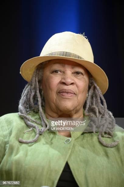 American writer Toni Morrison on September 21 2012 in Paris France