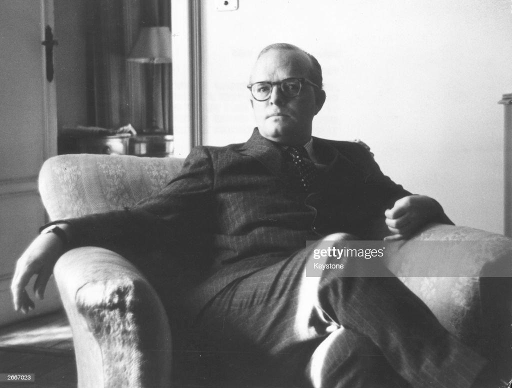Truman Capote : News Photo