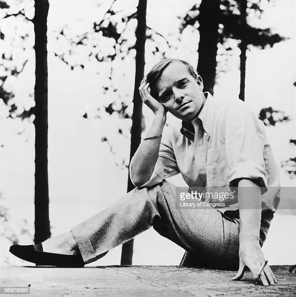 American writer Truman Capote whose most famous works include 'Breakfast At Tiffany's' and 'In Cold Blood' circa 1950