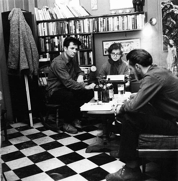 Composing 'This Is A Poem By Albert Saijo, Lew Welch, And Jack Kerouac' Wall Art