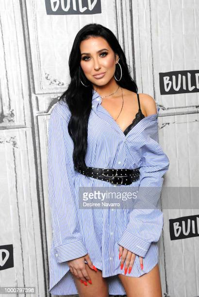 American YouTube personality Jaclyn Hill visits Build Series to discuss Morphe 'Jaclyn Hill Palette' at Build Studio on July 17 2018 in New York City