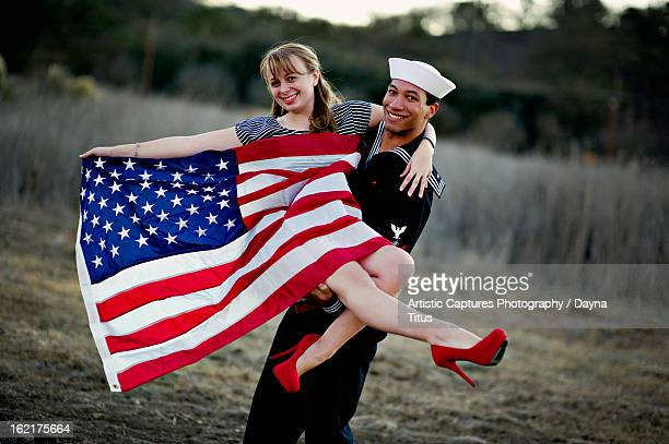 americana - sailor hat stock pictures, royalty-free photos & images