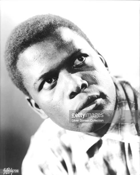 Americanborn Bahamian actor Sidney Poitier circa 1955