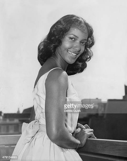 Americanborn French actress singer and dancer Marpessa Dawn London 30th May 1960 She is in London for a personal appearance at the Curzon cinema for...