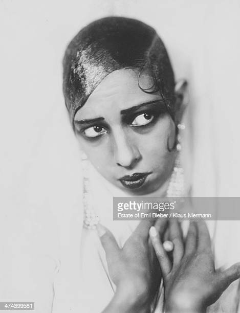 Americanborn French dancer singer and actress Josephine Baker Hamburg 1925