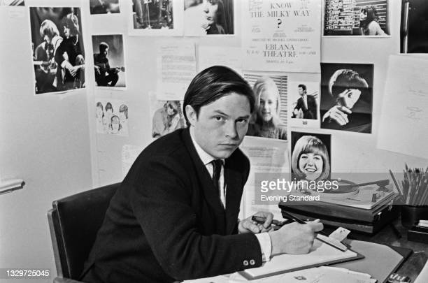 American-born television director Michael Lindsay-Hogg, UK, 12th June 1965. He is directing episodes of British pop programme 'Ready Steady Go!'.