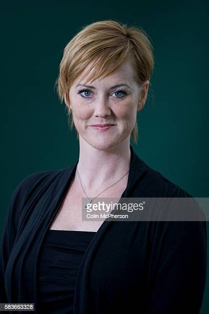 American-born writer and activist, and the woman who broke the MPs expenses scandal at Westminster, Heather Brooke, pictured at the Edinburgh...
