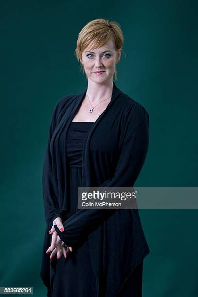 Americanborn writer and activist and the woman who broke the MPs expenses scandal at Westminster Heather Brooke pictured at the Edinburgh...