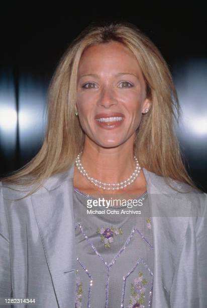 American-Canadian actress Lauren Holly attend the premiere of 'Besieged', held at the Directors Guild of America Theatre in Los Angeles, California,...