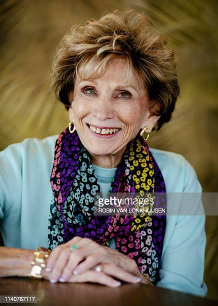 AmericanHungarian Holocaust survivor psychotherapist and dancer Edith Eva Eger poses during a photo session in De Bilt The Netherlands on May 2 2019...