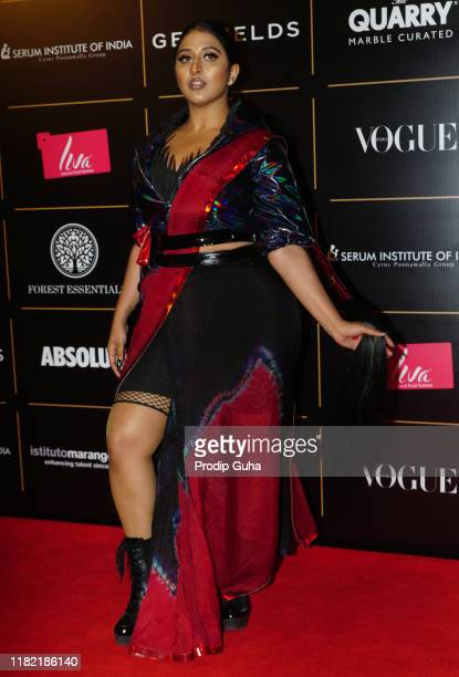 American-Indian songwriter Raja Kumari attend the Vogue Women of the Year on October 19, 2019 in Mumbai, India.