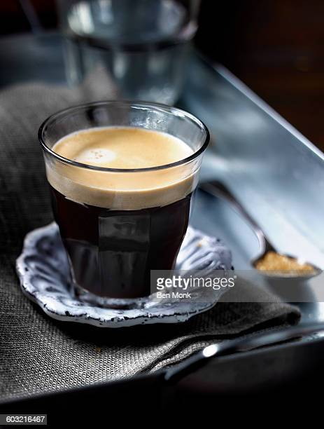 americano - espresso stock photos and pictures