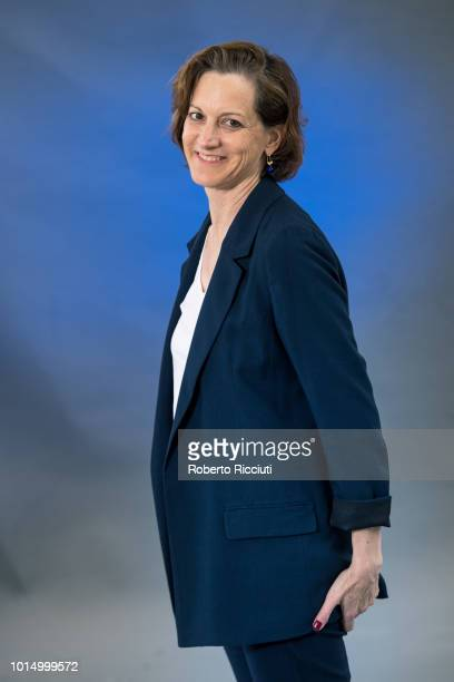 AmericanPolish journalist and Pulitzer PrizeÐwinning author Anne Applebaum attends a photocall during the annual Edinburgh International Book...