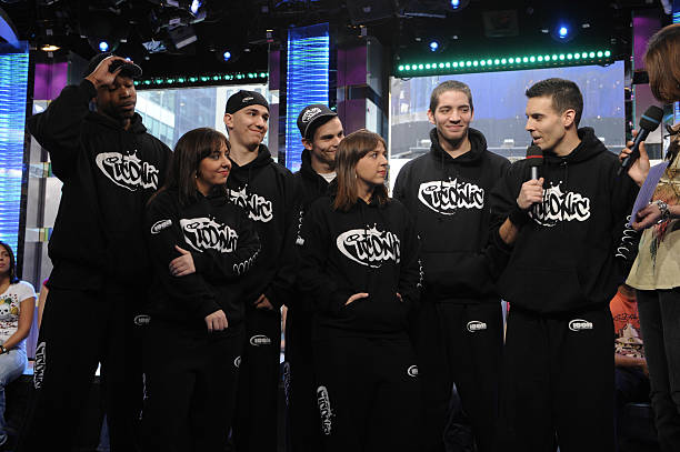 Americas Best Dance Crew Contestants Iconic Visits MTVs TRL March 3 2008 At