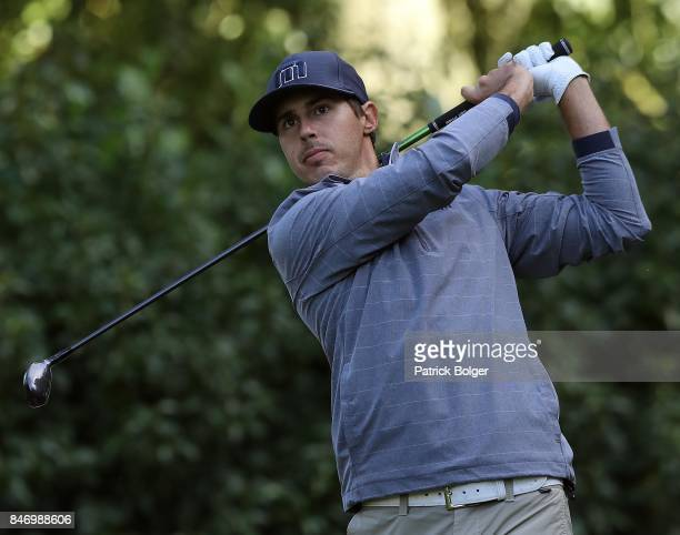 America's Chase Koepka during the first round of the 2017 Irish Challenge at Mount Wolseley Hotel Spa and Golf Resort on September 14 2017 in Carlow...