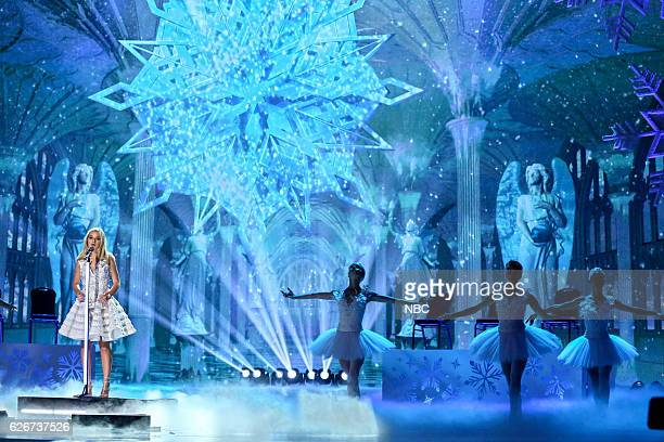S GOT TALENT 'America's Got Talent Holiday Spectacular' Pictured Jackie Evancho