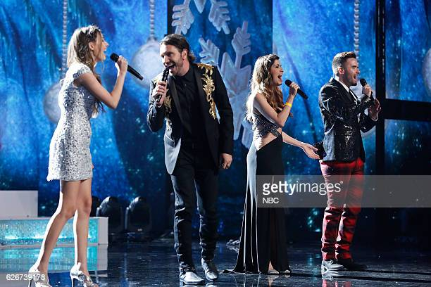 S GOT TALENT 'Americas Got Talent Holiday Spectacular' Pictured Jaslyn Edgar Ryan Edgar Nikki LeontiEdgar Brian Justin Crum