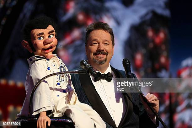 S GOT TALENT 'America's Got Talent Holiday Spectacular' Pictured Terry Fator